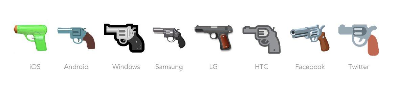 emoji-pistola